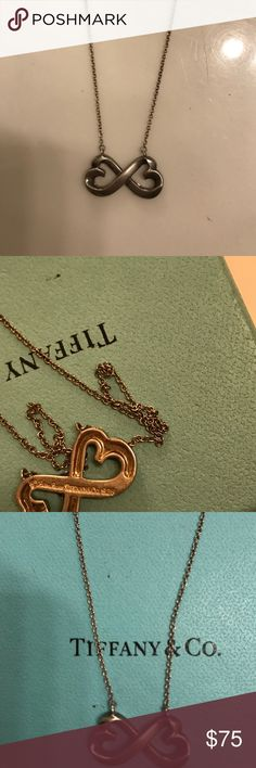 Tiffany necklace 16 inch It's beautiful and timeless with pouch and box Tiffany & Co. Jewelry Necklaces