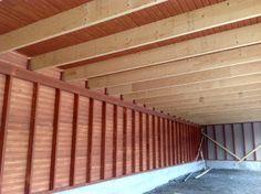Korpilahdelle valmistuneen autokatoksen puutyöt urakoi Aalman Oy - rakennuspalvelut, p. 040 705 7630  www.aalman.fi