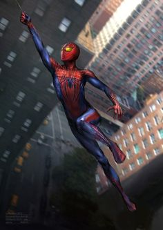 The Amazing Spider-Man by Gloria Shih