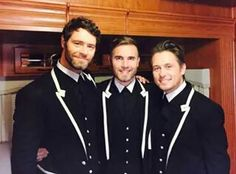 Gary Barlow, Howard Donald, and Mark Owen - Take That. Robbie Williams Take That, Take That Band, Howard Donald, Jason Orange, Mark Owen, Gary Barlow, Buy Tickets Online, Meghan Trainor, Great Bands