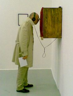 peephole art installation - Google Search