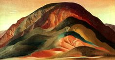 Georgia O'Keeffe, Rust Red Hills, 1930 Oil on canvas, Sloan Fund Purchase Brauer Museum of Art