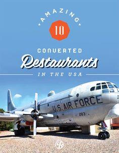 America's best offbeat recycled restaurants.