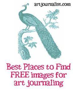 art journal Where to Find Free Graphics amp; Printables for Your Art Journals - Art Journalist Art Journal Pages, Art Journals, Drawing Journal, Watercolor Journal, Watercolor Sketch, Journal Covers, Bullet Journals, Kunstjournal Inspiration, Art Journal Inspiration