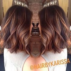 67 Ideas Hair Color Ideas For Brunettes Balayage Copper Caramel Highlights For 2019 Brown Blonde Hair, Brunette Hair, Blonde Honey, Brunette Color, Hair Color And Cut, Hair Colour, Hair Highlights, Caramel Highlights, Color Highlights