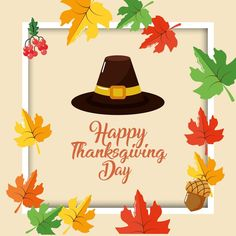 Download Happy thanksgiving day card for free