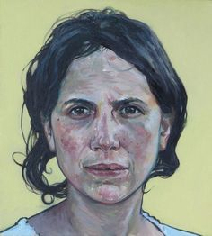 """Reserved for Choci"" - Jason Kozlowski, oil on canvas {contemporary figurative art teacher female head woman face portrait painting} Figure Painting, Painting & Drawing, Portrait Art, Portrait Paintings, Art For Art Sake, Face Art, Oeuvre D'art, Figurative Art, Painting Inspiration"