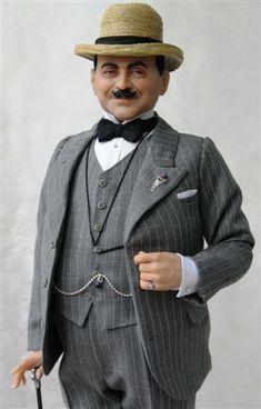David Suchet as Poirot - Shardakova Ekaterina