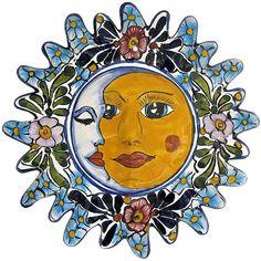 Talavera Eclipse for a garden wall
