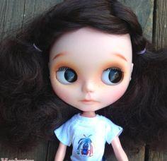 OOAK Custom Modify Face Blythe Blybe Basaak CCE Doll Handmade Gifts for Kids | eBay
