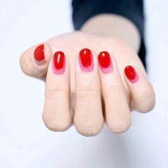 Nail Art Designs - Beautiful Nail Ideas for Red Manicure in 2020 Nail Art Designs - Beautiful Nail Ideas for Red Manicure in 2020 Red Manicure, Red Nails, Manicure And Pedicure, Hair And Nails, Cute Nails, Pretty Nails, Pink Gel, Nail Design Glitter, Art Visage