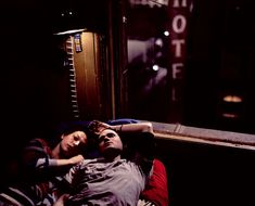 """Jeremy Davies and Milla Jovovich in """"The Million Dollar Hotel"""" 