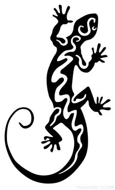 my second work comment Lizard 2 Rose Stencil, Stencil Art, Stencils, Deer Skull Art, Tribal Images, Lizard Tattoo, Farm Animal Coloring Pages, Arte Tribal, Native American Pottery