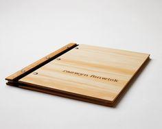 custom folio design portfolio wood engraved modern student resume // photography folio graphic design 30 inserts