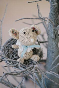 PATTERN Silky spring mouse amigurumi crochet от lilleliis на Etsy