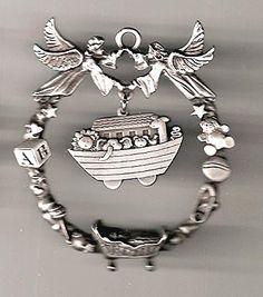 Angel Noah's Ark Crib Ornament.