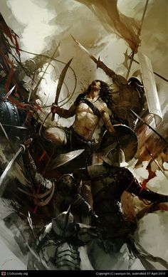 Spartacus by wenjun lin | 2D | CGSociety