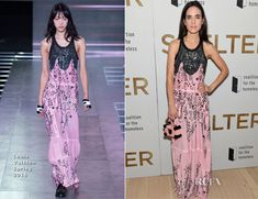 Jennifer Connelly In Louis Vuitton - 'Shelter' New York Premiere - Red Carpet Fashion Awards Louis Vuitton Clothing, Jennifer Connelly, Red Carpet Event, Red Carpet Fashion, Awards, New York, Fashion Looks, Formal Dresses, Shelter