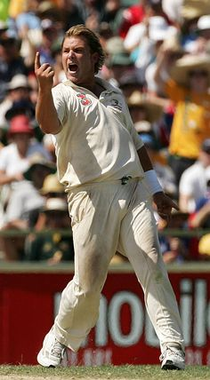 The man who bowled the ball of the century was born on this day (September 13) in 1969. Click on the picture to read more about the legendary exploits of Shane 'Hollywood' Warne, some of which were far from pretty.