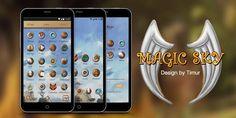 Magic Sky GO Launcher Theme– скриншот