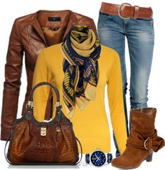 """I could scarf up this outfit"" by sheryl-lee on Polyvore"