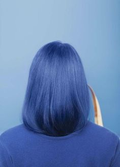 There is 0 tip to buy hair accessory, blue hair, hair dye, blue. Hair Inspo, Hair Inspiration, Design Inspiration, Creative Inspiration, Hair Color Blue, Navy Blue Hair, Lilac Hair, Blue Hair Streaks, Mint Green Hair