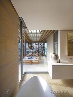 Bathroom view Saota Architects