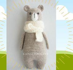 Canal crochet en Youtube ♥️ Dinosaur Stuffed Animal, Toys, Crochet, Youtube, Animals, Plushies, Amigurumi, Activity Toys, Animales
