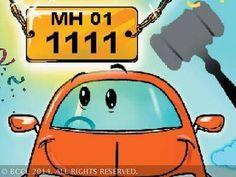 MUMBAI: RTOs hier haben eine 48 % Umsatzwachstum von VIP Registrierungsnummern verkauft, Auto und Zweirad-Besitzer in den vergangenen vier Jahren gese... #VIP #Sondernummern #Umsatzwachstum #Zahlen