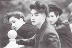Kai, D.O, Suho - 140818 First official photobook 'Die Jungs' - [SCAN][HQ] Credit: Lunar-Orbit.