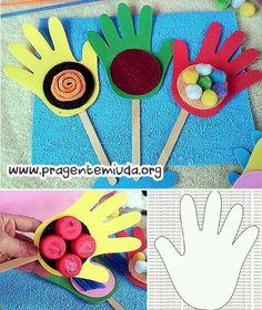 Mãos sensoriais