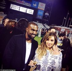 Kim Kardashain and Kanye West Engaged.