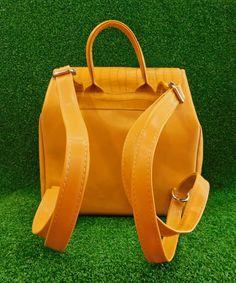 Σακίδιο Πλάτης Μουσταρδί | Vaya Fashion Boutique