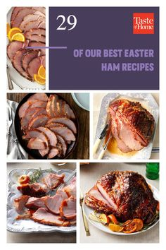 29 of Our Best Easter Ham Recipes Easter Ham, Easter Dinner, Easter Brunch, Holiday Ham, Holiday Baking, Best Ham Recipe, Baked Ham With Pineapple, Southern Specialties, Duck Sauce