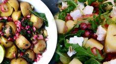 Βασιλόπιτα Κέικ Συνταγή & Υπέροχες Ιδέες να τη Διακοσμήσετε | womanoclock.gr Xmas Food, Feta, Potato Salad, Goodies, Potatoes, Chicken, Vegetables, Ethnic Recipes, Sweet