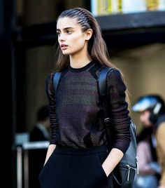 Taylor Hill's headband is giving off major '90s vibes