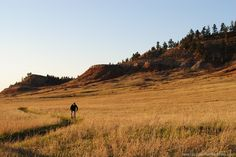 Hiking and Biking right in the city limits at Spearfish SD's Lookout Mountain Park
