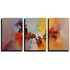 I don't really like these, but I want a triptych in my bedroom. You get the idea though