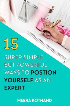 Looking to build clout like the experts? Here are 15 powerful ways to position yourself as an expert and build authority. Business Entrepreneur, Business Tips, Online Business, Successful Business, Creative Business, Content Marketing, Online Marketing, Digital Marketing, Marketing Ideas