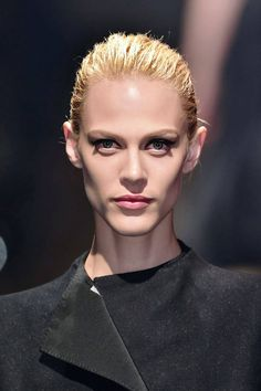 It's going to look like this eventually, so why not add a little gel for a bit of control?    - HarpersBAZAAR.com