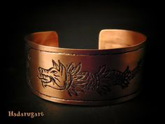 Artizan in cupru Copper Bracelet, Cuff Bracelets, Copper Artwork, Artisan, Belt, Deviantart, Handmade, Accessories, Romani