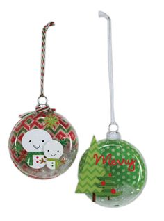 Doodlebug Disc Ornaments.