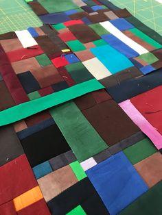 quilts und mehr: Auch diese Teile möchte ich in meinem neuen Quilt ... Moon River, Quilt Art, Inchies, Blog, Blanket, Scrappy Quilts, Textile Art, Blogging, Blankets