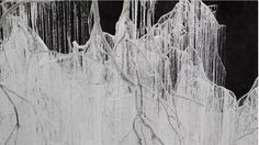 A Crap Ton of Hot Glue Went Into This Beautiful Snowscape by ArtistYasuaki Onishi