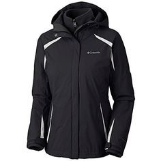 Columbia Womens Blazing Star Interchange Jacket Black Small * Want additional info? Click on the image.(This is an Amazon affiliate link and I receive a commission for the sales)