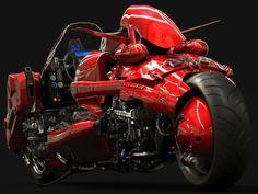 Realistic Akira bike on Futuristic Motorcycle, Motorcycle Art, Futuristic Cars, Motorcycle Jeans, Motorcycle Camping, Camping Gear, Concept Motorcycles, Cool Motorcycles, Kaneda Bike