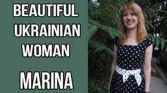 Single Ukrainian woman Marina