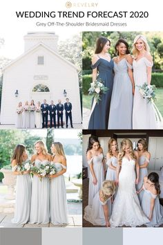 Spring 2020 Trends you can incorporate into your wedding now. Greys are all the … – Haircut Trends For Men and Womens – TrendPin Gray Wedding Colors, Summer Wedding Colors, Wedding Color Schemes, Formal Wedding, Wedding Gowns, Dream Wedding, Wedding Trends, Wedding Styles, Wedding Ideas