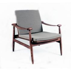 Check out the Stilnovo FEC7119GREY Redford Chair in Grey priced at $968.00 at Homeclick.com.