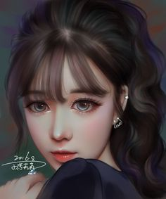 Find images and videos about girl, art and illustration on We Heart It - the app to get lost in what you love. Pretty Anime Girl, Beautiful Anime Girl, Anime Art Girl, Anime Girls, Princesas Disney Zombie, Manga Kawaii, Cute Cartoon Girl, Cute Girl Wallpaper, Oil Portrait